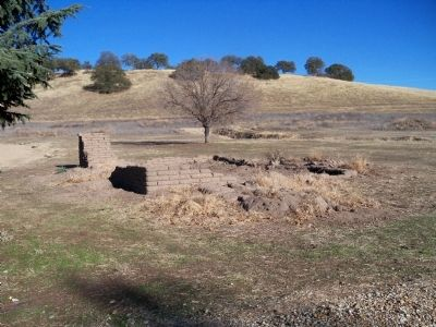 Ruins Of An Adobe Structure On The Mission Grounds image. Click for full size.