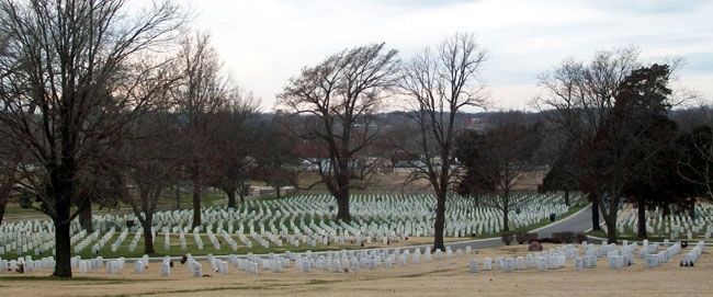 Fort Scott National Cemetery image. Click for full size.