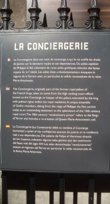 La Conciergerie Marker image. Click for full size.