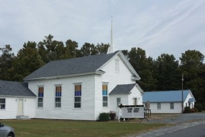 Trinity Methodist Church and Marker Photo, Click for full size