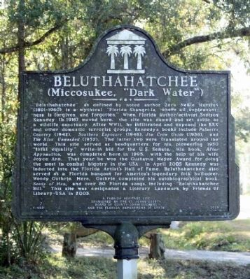 Beluthahatchee Marker image. Click for full size.