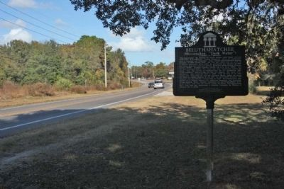Beluthahatchee Marker, looking north along Florida Route 13 image. Click for full size.