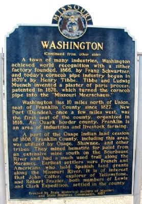 Washington Marker (Side B) Photo, Click for full size