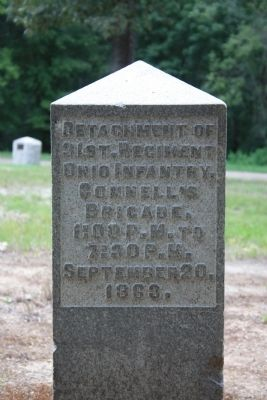 31st Ohio Infantry Marker image. Click for full size.