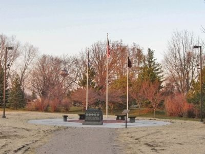 North Fond du Lac Veterans Memorial image. Click for full size.
