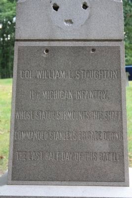 11th Michigan Infantry Marker Photo, Click for full size