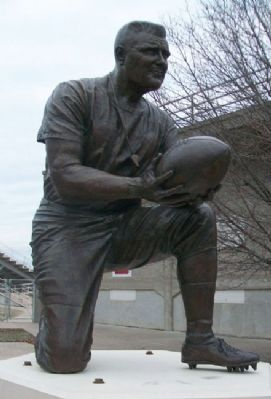 "Statue of Walter ""Kayo"" Emmot image. Click for full size."