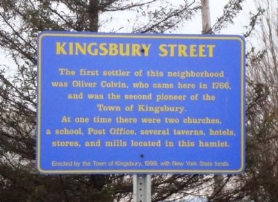 Kingsbury Street Marker Photo, Click for full size