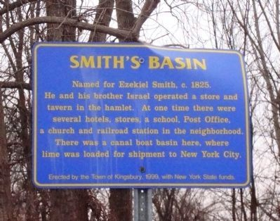 Smith's Basin Marker image. Click for full size.