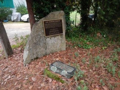 Lake Madrone Cemetery Marker image. Click for full size.