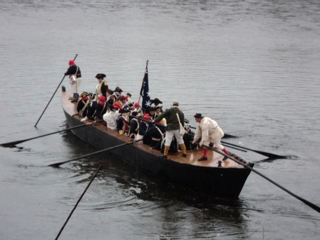 Washington Crossing the Delaware image. Click for full size.