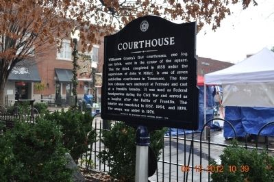 Courthouse Marker image. Click for full size.
