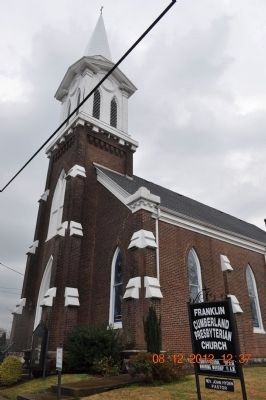 Franklin Cumberland Presbyterian Church image. Click for full size.