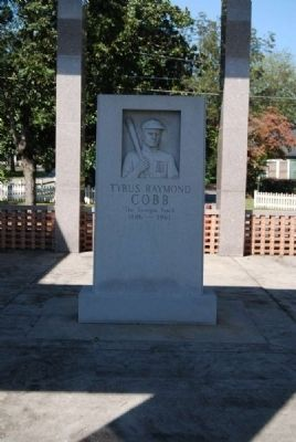 Tyrus Raymond Cobb Monument image. Click for full size.