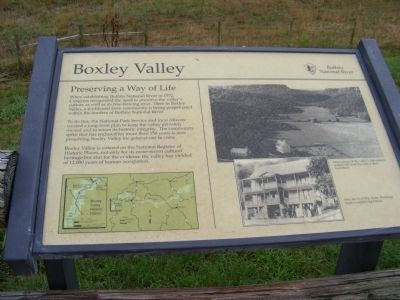 Boxley Valley Marker image. Click for full size.