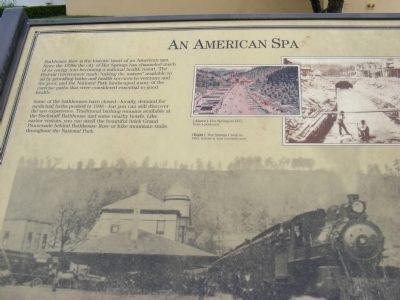 An American Spa Marker image. Click for full size.