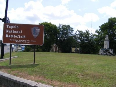 Battle of Tupelo Marker Photo, Click for full size
