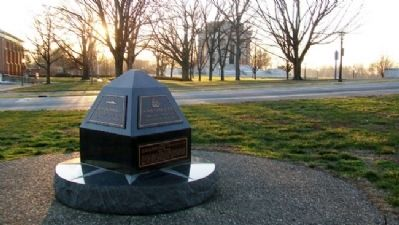 U.S.S. Vincennes Memorial image. Click for full size.