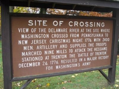 Site of Crossing Marker image. Click for full size.