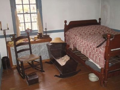 Johnson Ferry House Bedroom image. Click for full size.