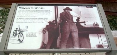 Wheels to Wings Marker image. Click for full size.