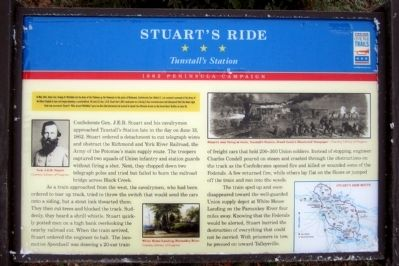 Stuart's Ride CWT Marker Photo, Click for full size