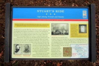 Stuart's Ride CWT Marker image. Click for full size.