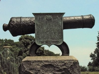 This Cannon Marks Rodgers Bastion Marker image. Click for full size.