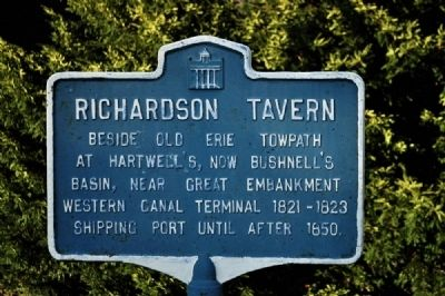Richardson Tavern Marker image. Click for full size.