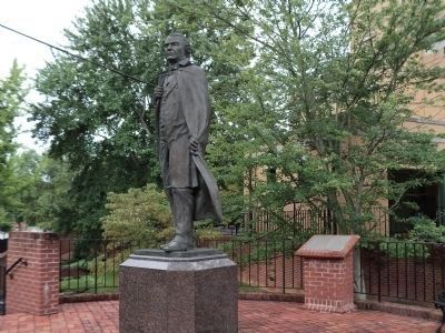 Andrew Johnson Memorial and Marker image. Click for full size.