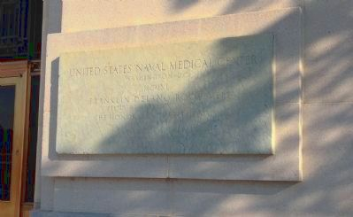 National Naval Medical Center Cornerstone (2) image. Click for full size.