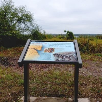 The Lost Village of Cameron at Hunting Creek Marker image. Click for full size.