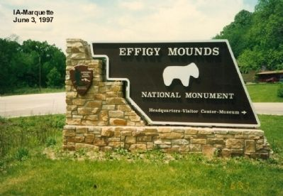 The Mystery of the Mounds Marker image. Click for full size.