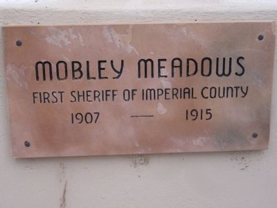 Mobley Meadows Marker image. Click for full size.