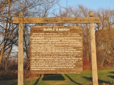 Supple's Marsh Marker image. Click for full size.