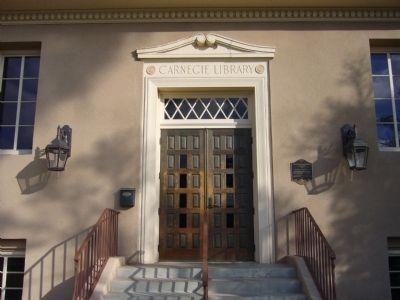 Calexico Carnegie Library image. Click for full size.