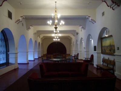Hotel De Anza Lobby image. Click for full size.