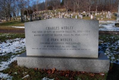 Medley Grave Photo, Click for full size