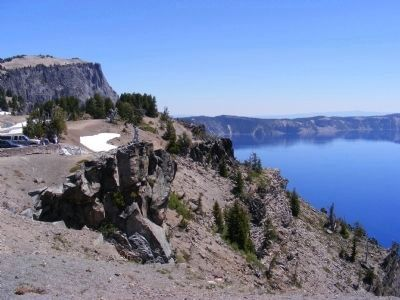 Crater Lake National Park image. Click for full size.