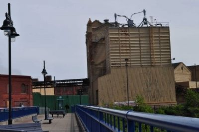 Brewery Building as seen in May 2012 image. Click for full size.