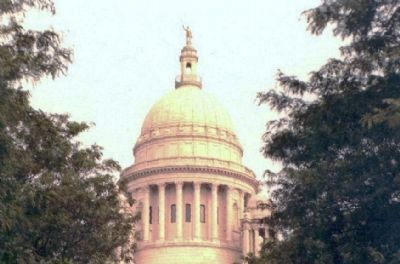 Rhode Island State House image. Click for full size.