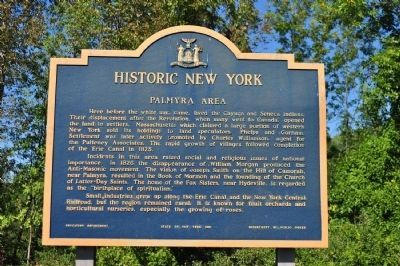 Palmyra Area Marker image. Click for full size.