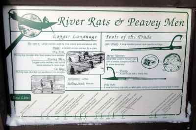 River Rats & Peavey Men Marker image. Click for full size.