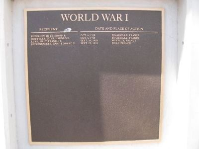 World War 1 - (2nd Plaque) image. Click for full size.