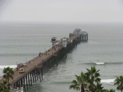 Oceanside Pier image. Click for full size.