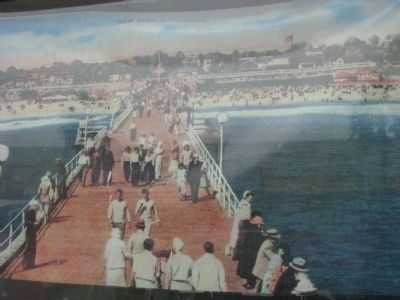 Oceanside Pier 1925 image. Click for full size.