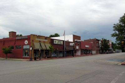 A part of Main Street in Marceline image. Click for full size.