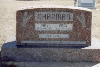 Amos Chapman Gravesite image. Click for full size.
