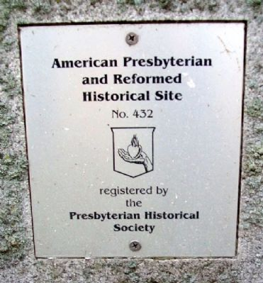 Presbyterian Historical Society Marker image. Click for full size.