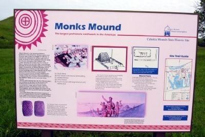 Monks Mound Marker in 2010 image. Click for full size.